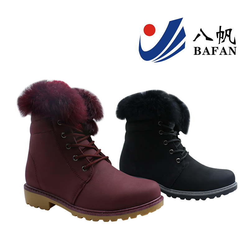 2017 New Fashion Women Boots with Fur on Collor Bf170178