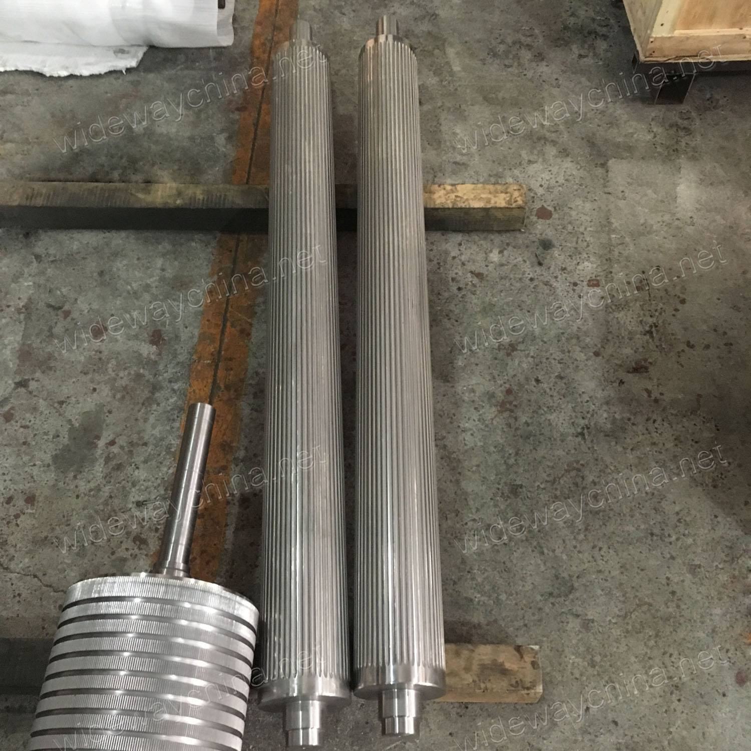 Precision OEM Stainless Steel Rollers for Food Machine