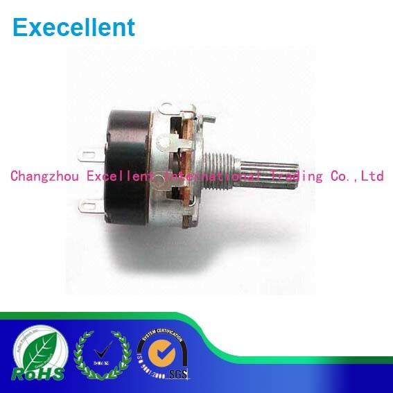 24mm 1k 5k 10k 47k Wh138 4gang Rotary Carbon Potentiometer