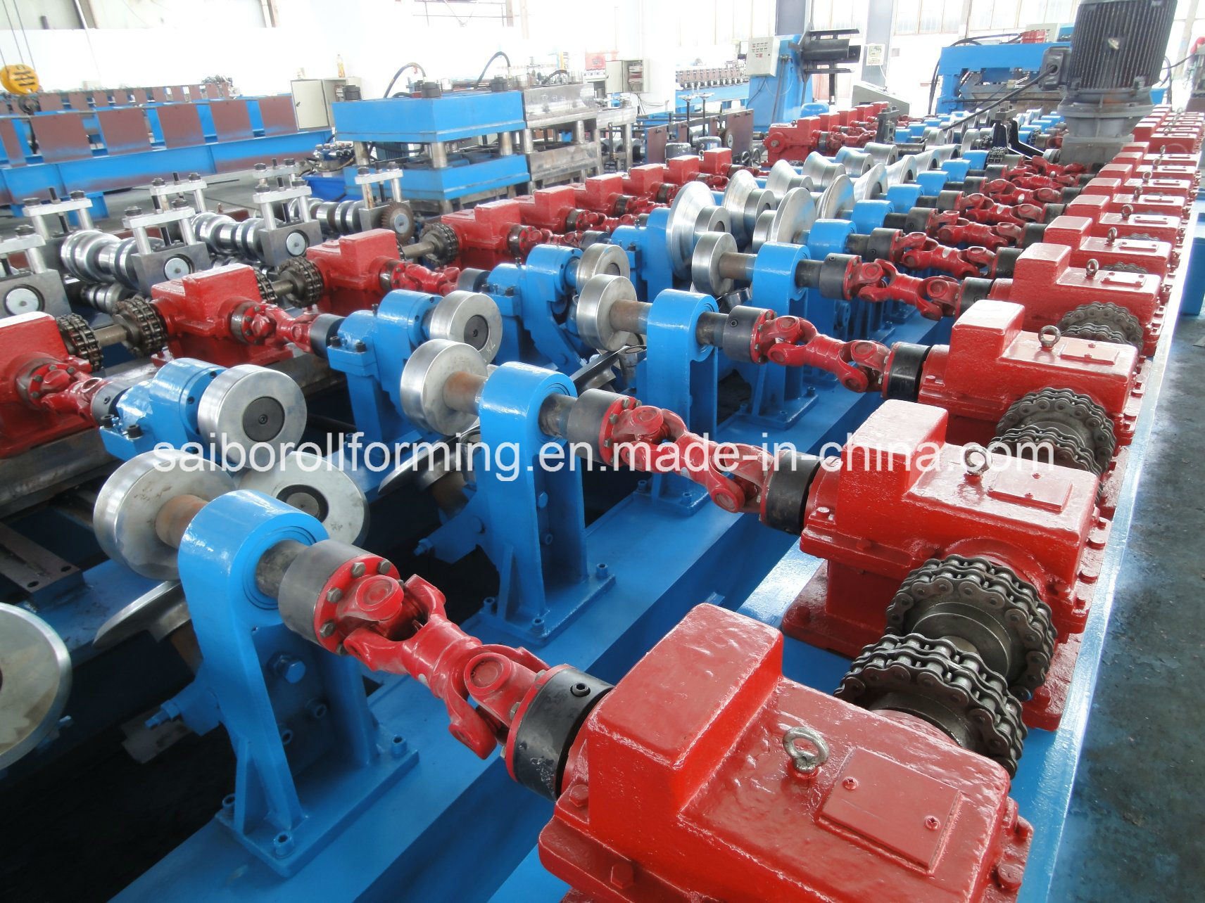 C&Z Purlin Interchangeable Forming Machine by Gearbox