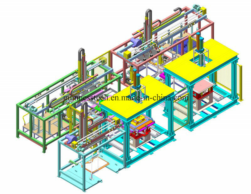 Automatic Car Interior Door Edging Equipment Production Line