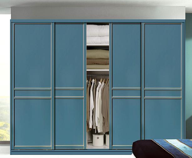 Wooden Slding Door Wardrobe Furniture (factory price directly)