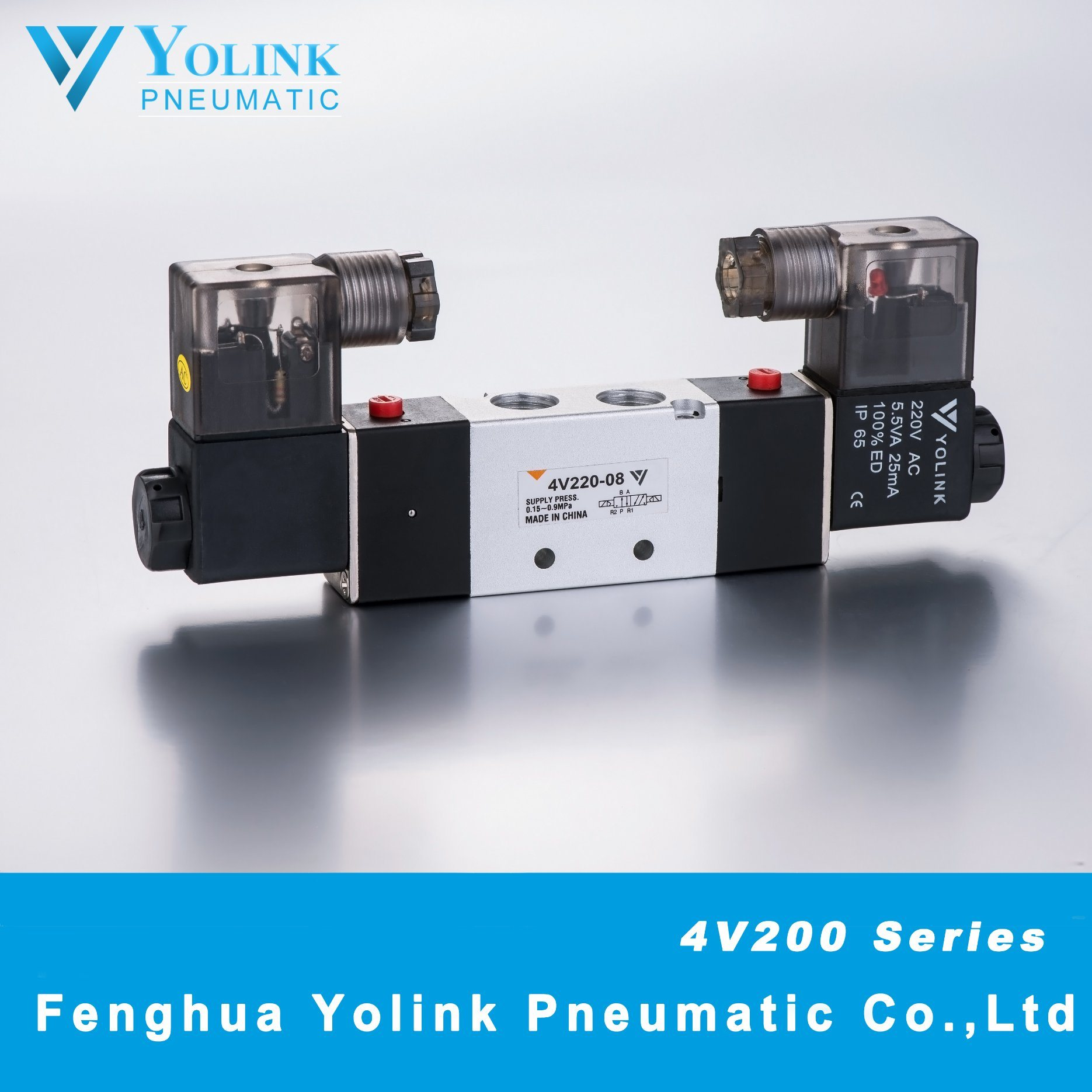 4V210 Series Pilot Operated Solenoid Valve