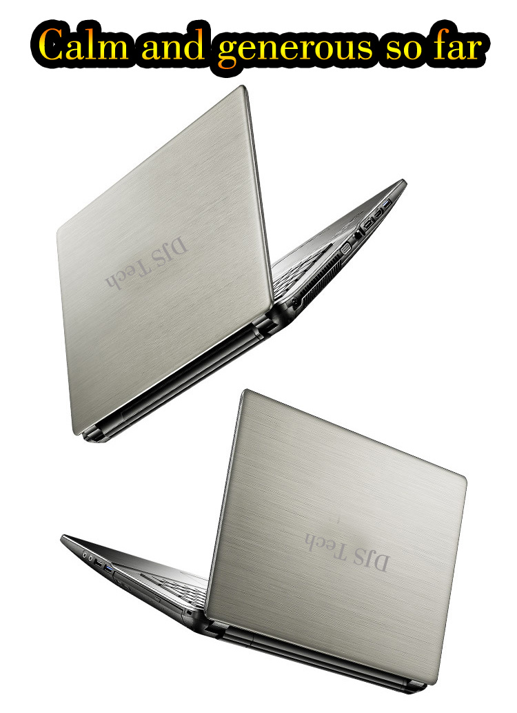 Computer Gold Supplier China USB3.0 Size Big Intel CPU Laptops