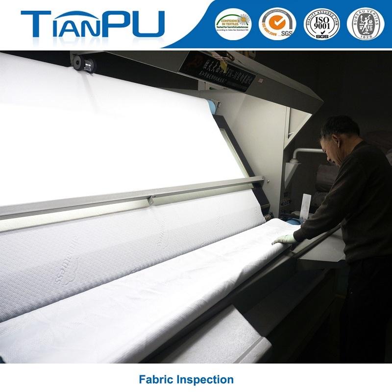 Bamboo Customized Logo Jacquard Mattress Ticking Fabric for Foam Mattress Surface