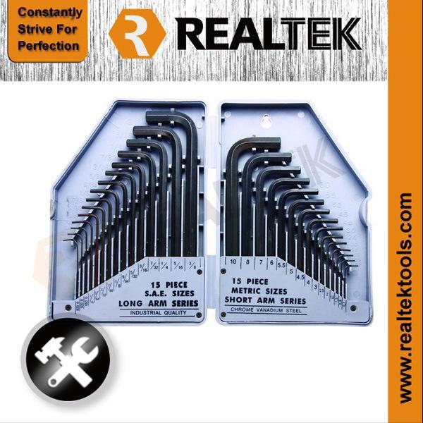 30PCS Combination Hex Key Set