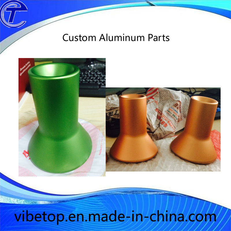 Cheap Price CNC Aluminum Anodizing Plastic Part (Alu-002)