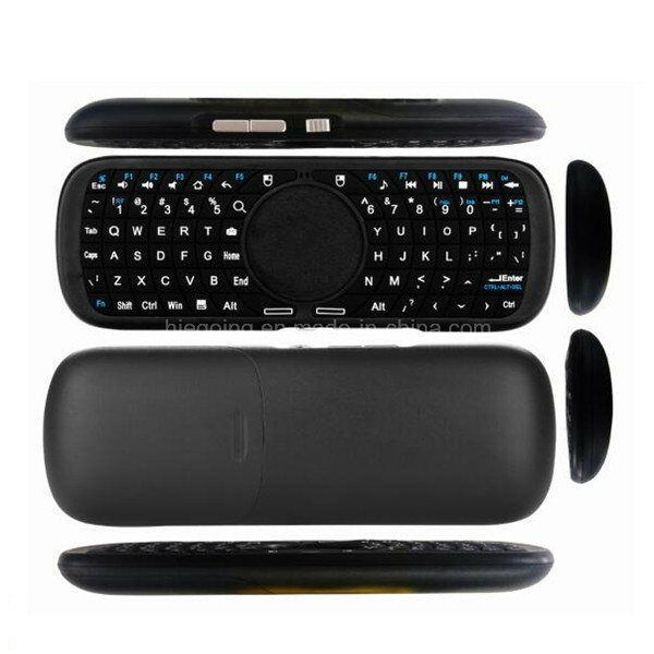 2.4G Handheld Wireless Mini Keyboard with Touchpad Mouse
