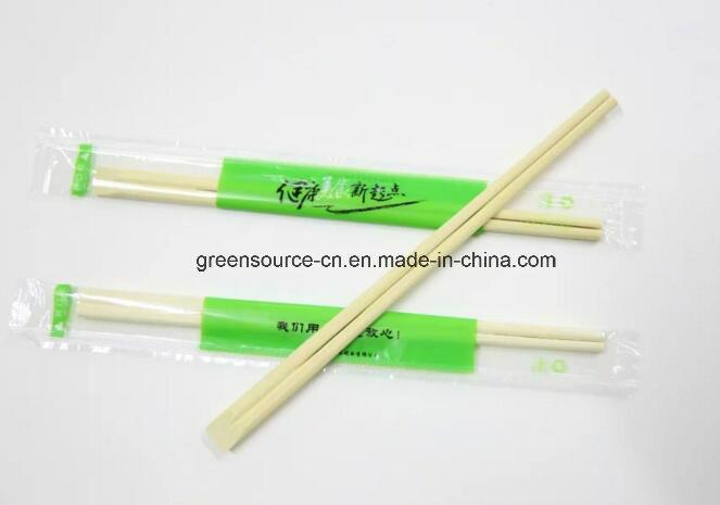 Beveled Bamboo Chopsticks