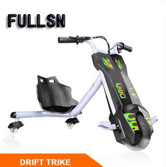 New 120W Drift Trike 3 Wheel Smart Bike Side Trike for Kids