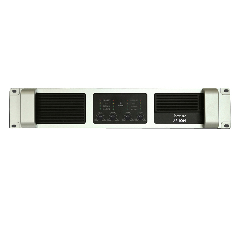PA System PRO Audio Four Channel SMPS Speaker Power Amplifier