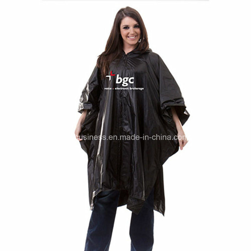with Printing Logo/ PVC/ Waterproof and Windproof/ Rain Poncho
