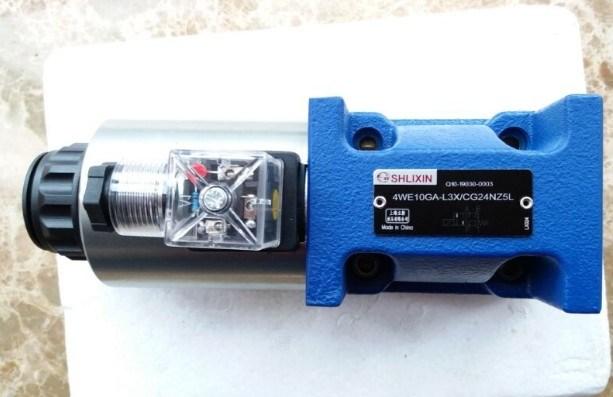 Shlixin High Pressure Solenoid Valve Directional Valve 4we10ga-L3X/Cg24nz5l Hydraulic Valve