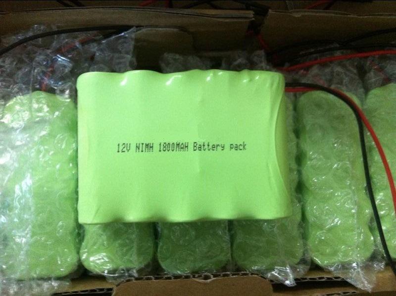 12V 1800mAh NiMH Battery Pack