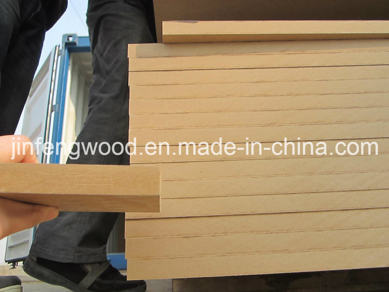 Plain MDF/Sanding MDF Medium Density Fiberboard Raw Plain MDF