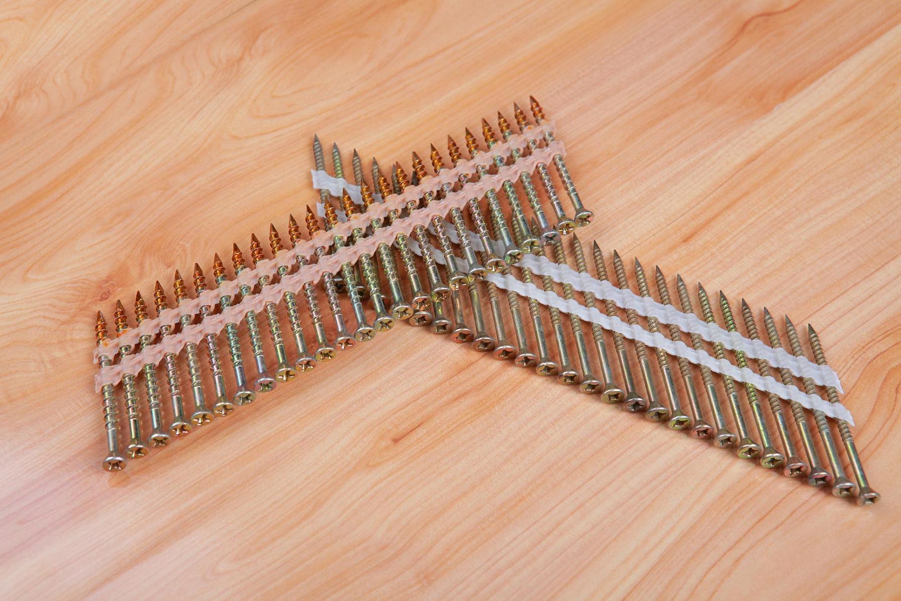 Nailscrew 16 Deg Wire Collated Screw