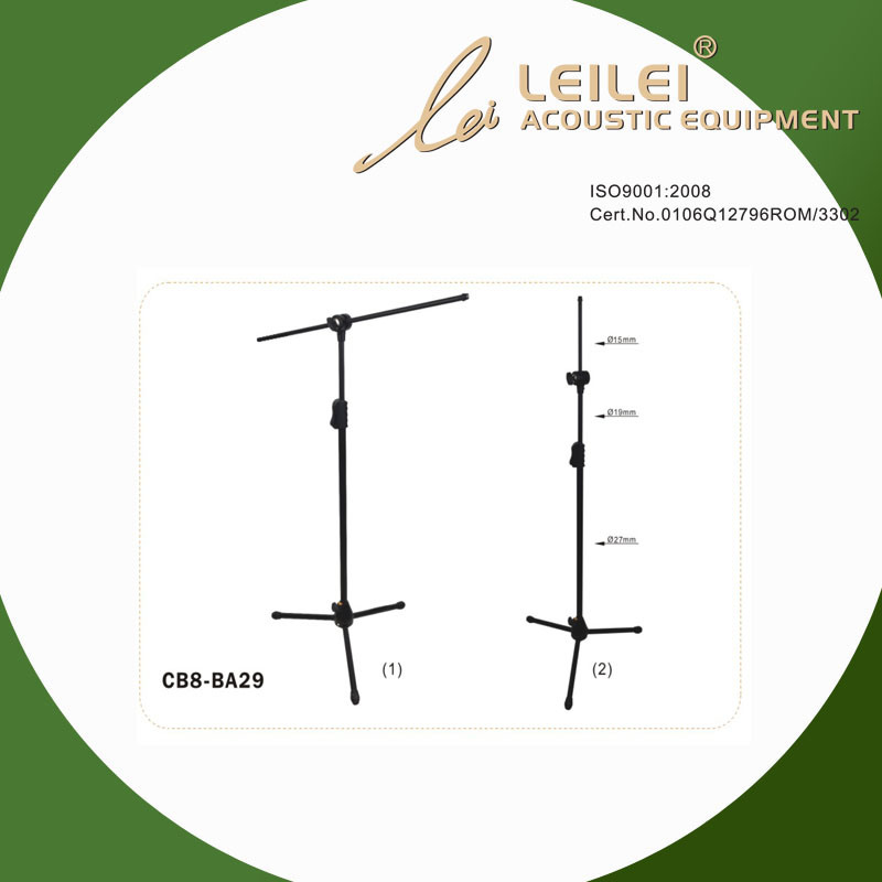 Height Ajustable Microphone Stand (CB8-BA29)