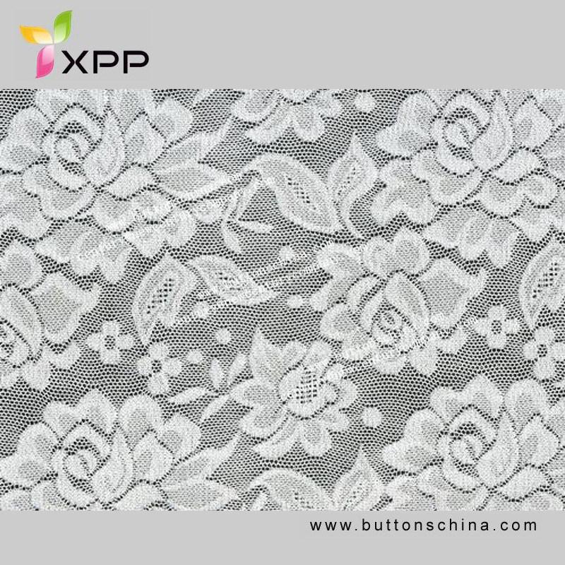 Garment Accessories Elastic Crochet Fabric Lace