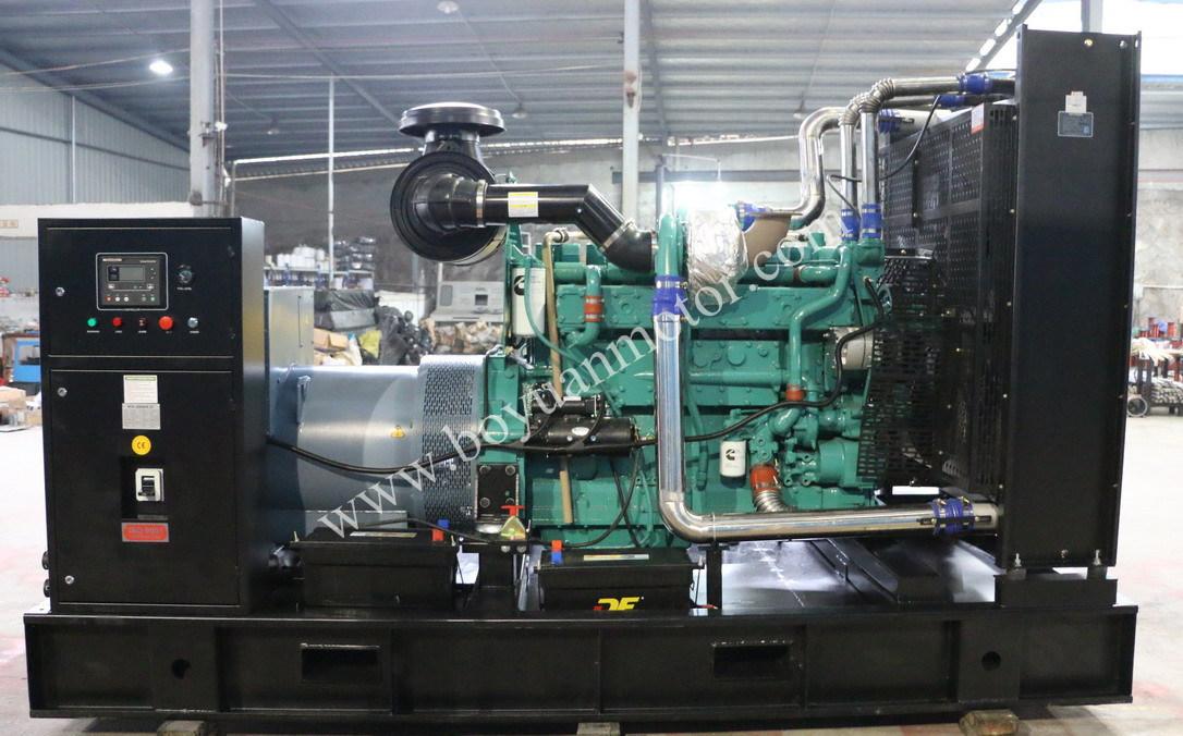 Cummins Diesel Engine Open Type Diesel Generator Set 400kw/500kVA