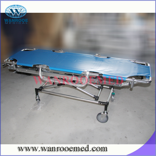 Emergency Bed with Transfusion Pole