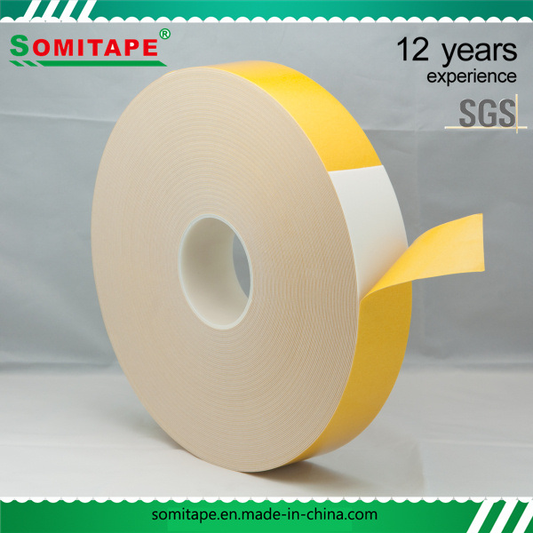 Sh333A-20 Excellent Quick-Stick Waterproof Acrylic Foam Tape Special for Metal Somitape