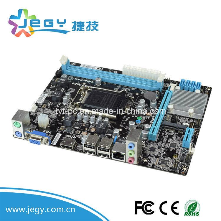 2017 OEM High Quality Intel Mainboard H61-G LGA 1155 Has 1000LAN&WiFi Port Desktop Motherboard