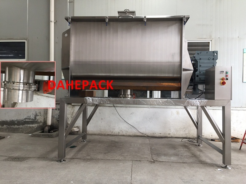 Horizontal Ribbon Mixer, Horizontal Ribbon Powder Mixer