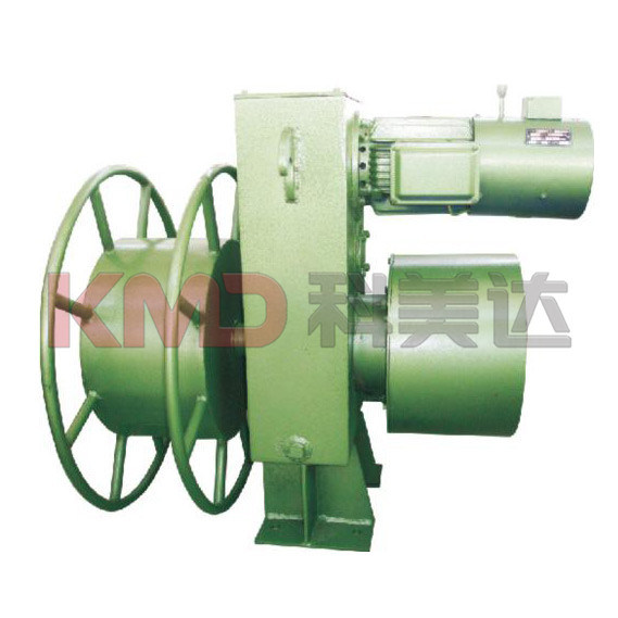 Cable Drum of Magnetic Hysteresis Type for Coiling Cable