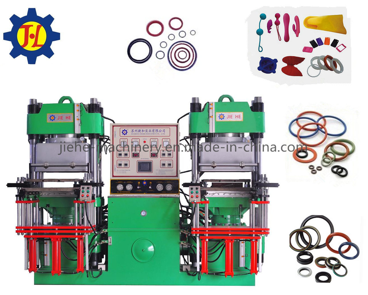 Good Quality Vacuum Heat Pressure Rubber Rings Processing Machine