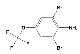 2, 6-Dibromo-4- (trifluoromethoxy) Aniline CAS No. 88149-49-9