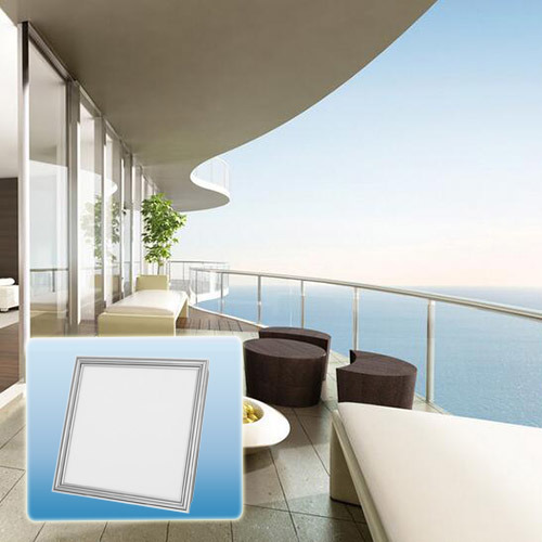 High Quality Multicolor IP44 Waterproof Flat Square LED Panel Light