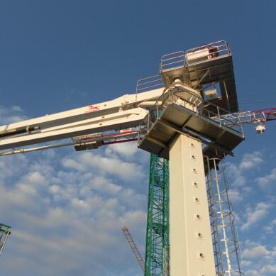 Building Equipment Placing Radius 28m Concrete Machine (PB28A)