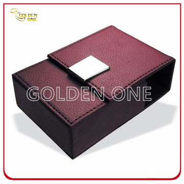 Fancy Design Genuine Leather Cigarette Case