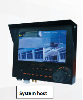 Police 3G 4G Dynamic Evidence System with PTZ Camera Eembeded Linux LCD Display Host
