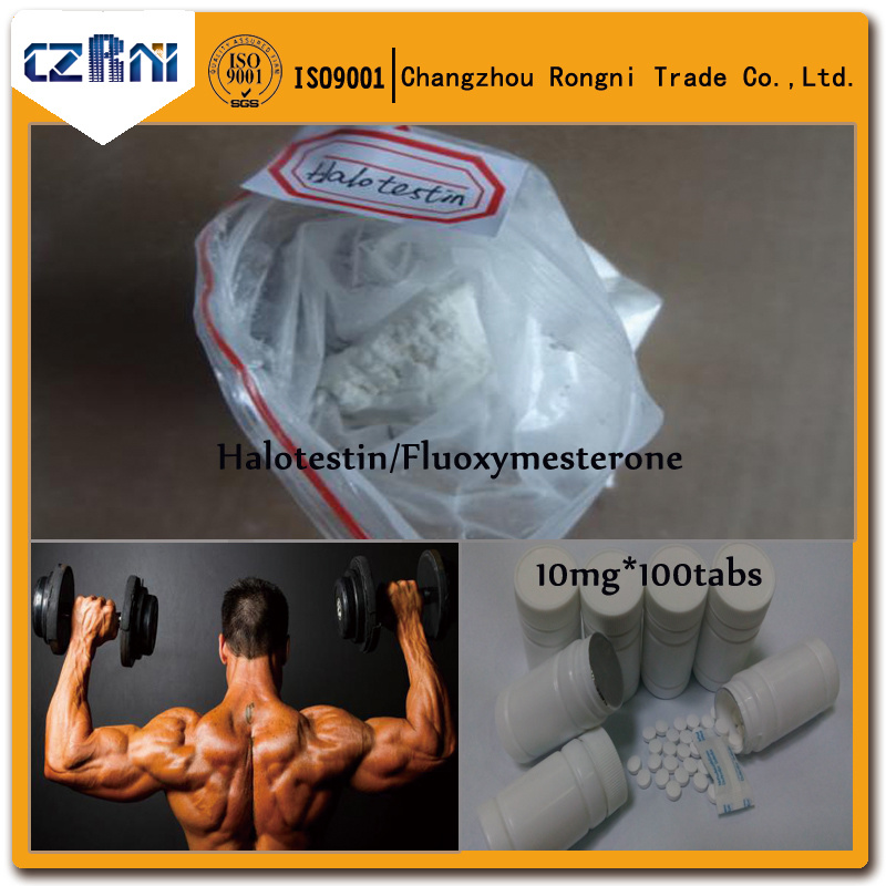 99% Oral Halotestin Natural Anabolic Steroids for Bodybuilding (CAS: 76-43-7)
