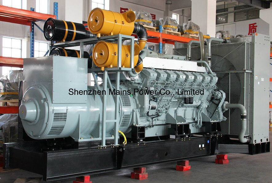 1640kw 2050kVA Mitsubishi Diesel Generator Set Standby 1800kw 2250kVA