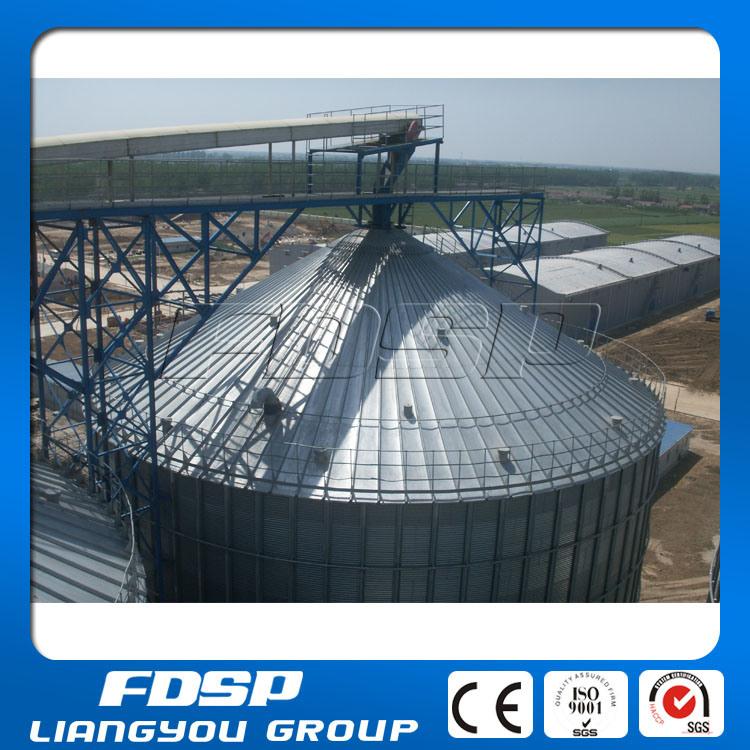 Galvanized Steel Sheet Silo for Corn Storage 2000t