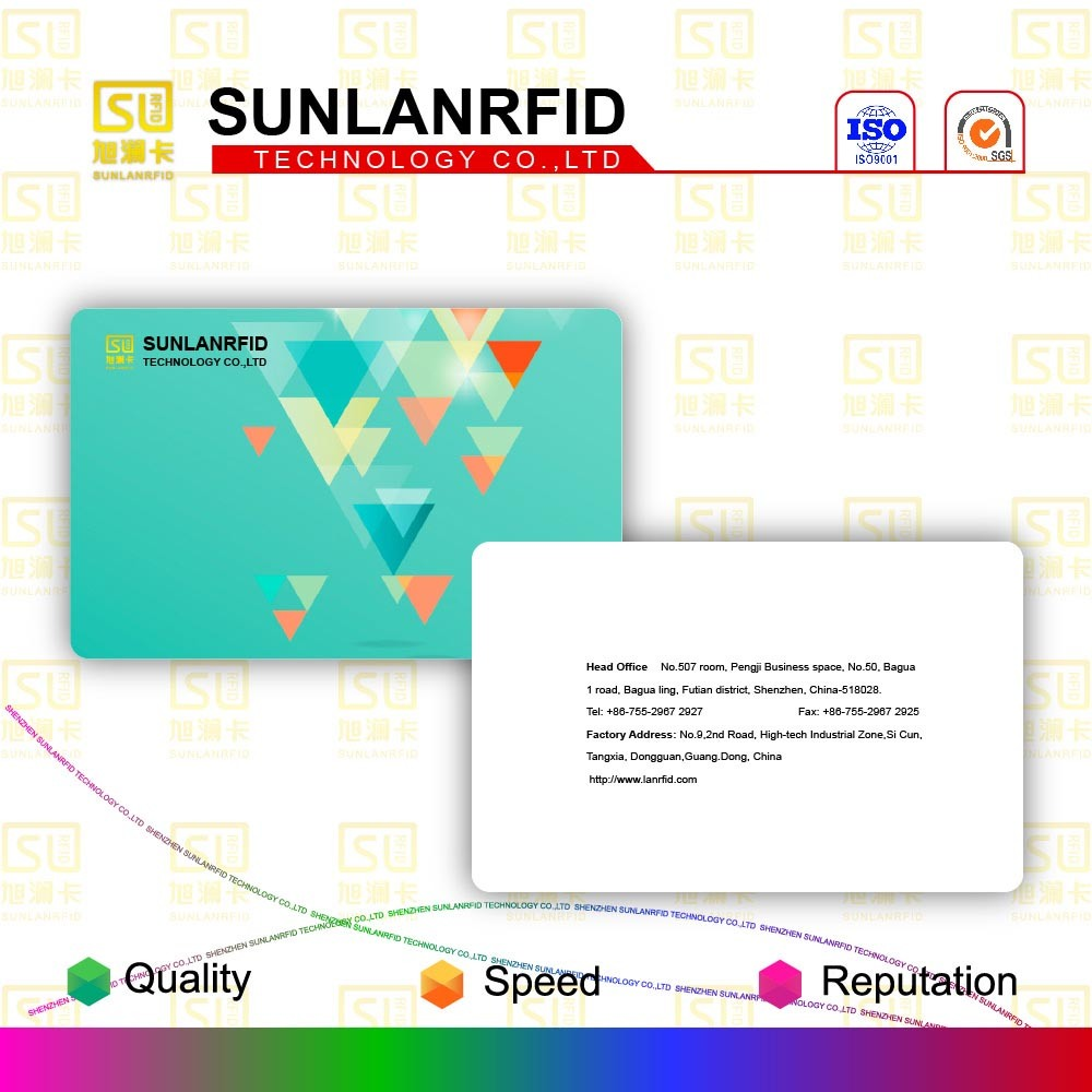 Plastic Scratch-off Membership Barcode Card with Magnetic Stripe