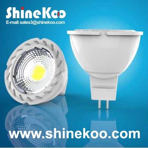 Aluminium 5W COB LED GU10 (SUN10-COB-GU10-5W-F)
