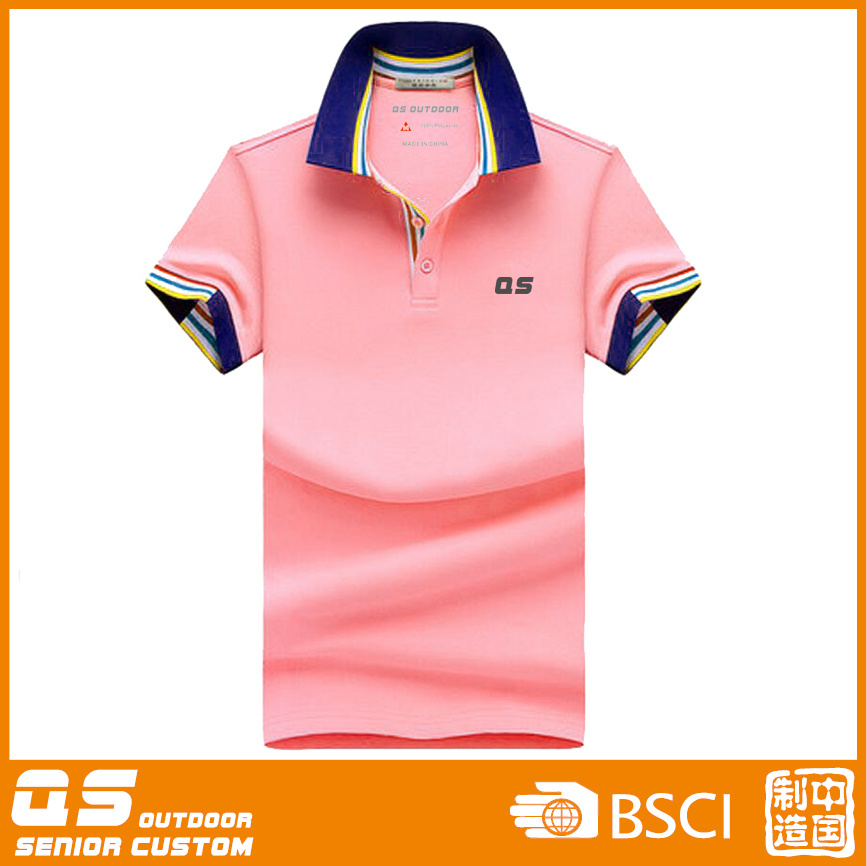 Customed Women′s Colorful Polo T-Shirt