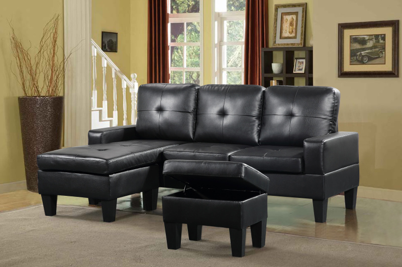 Home Furniture Promotion PU Sofa (C7005)