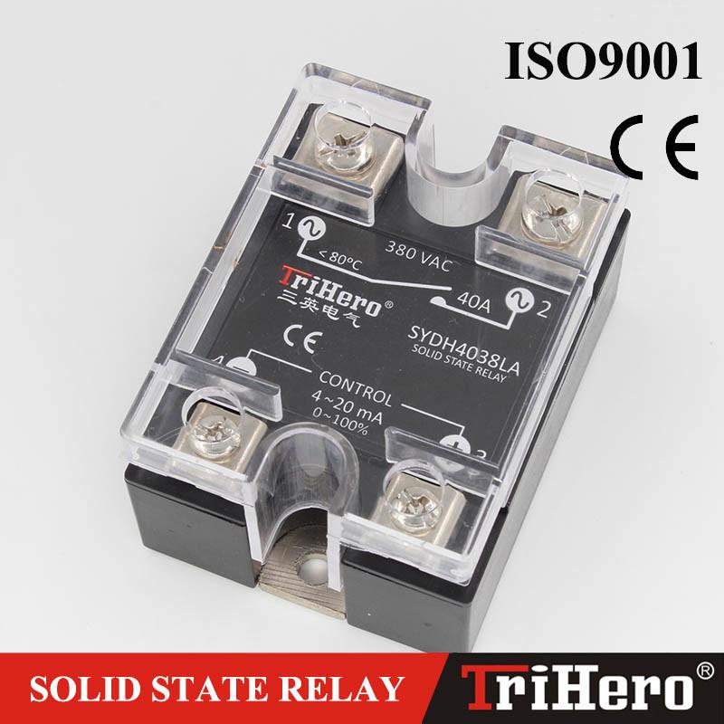 40A SSR Relay 4-20mA