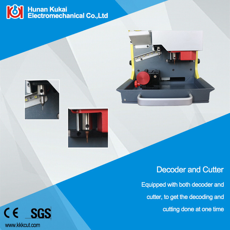 China Cheapest Fully Automatic Used Key Cutting Machine Multiple Languages (SEC-E9)