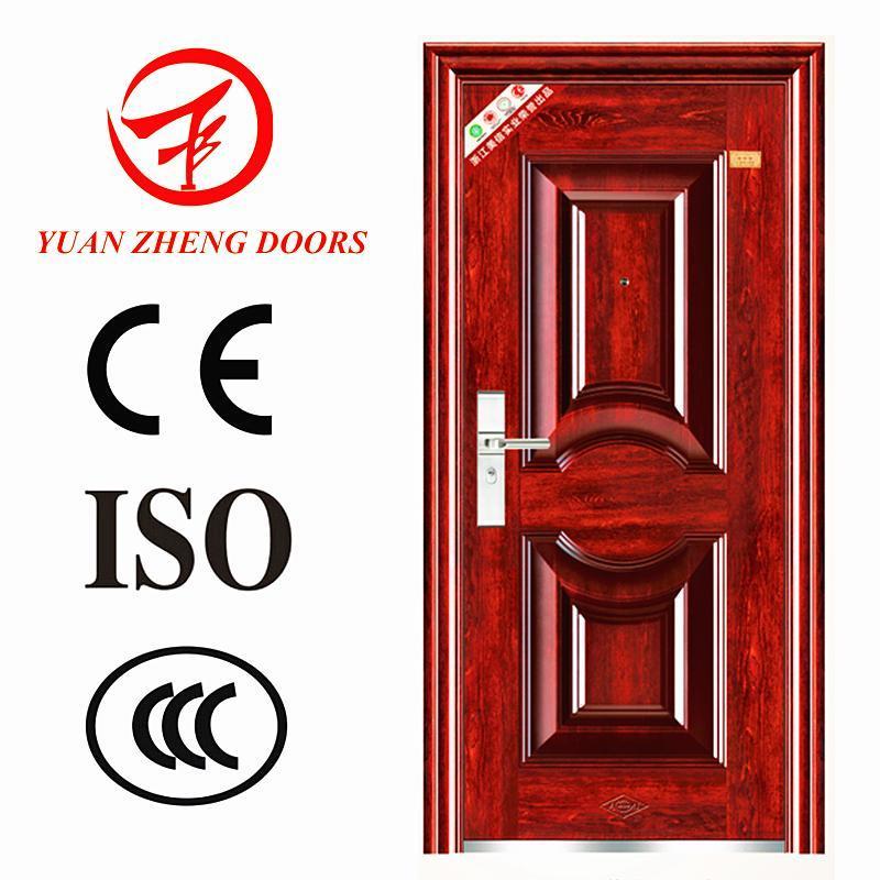 Swing Open Steel Material Security Entry Door