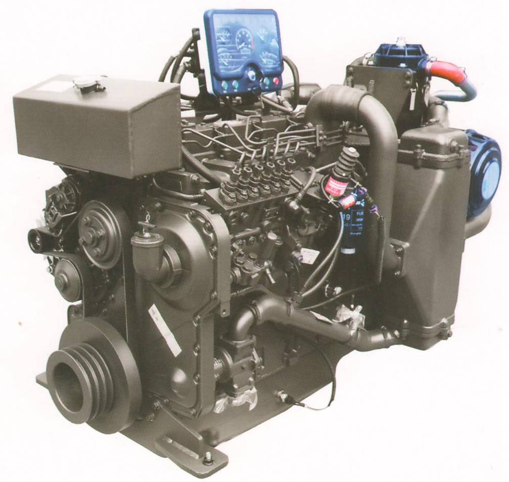 110~290 Kw D Series Marine Diesel Engine