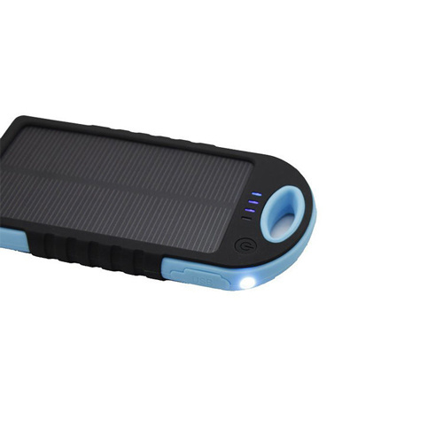 The Hottest Mobile Solar Charger Power Bank with 6000mAh