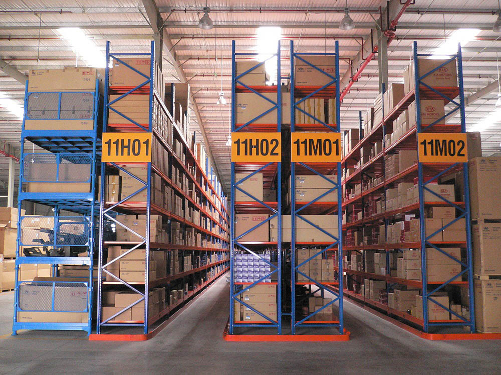 Niuli Narrow Aisle Pallet Rack