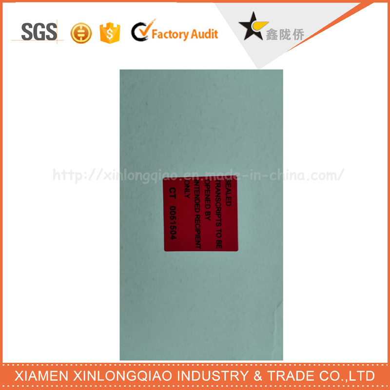 Custom Security Adhesive Warranty Seal Label Printing Tamper Evident Void Sticker