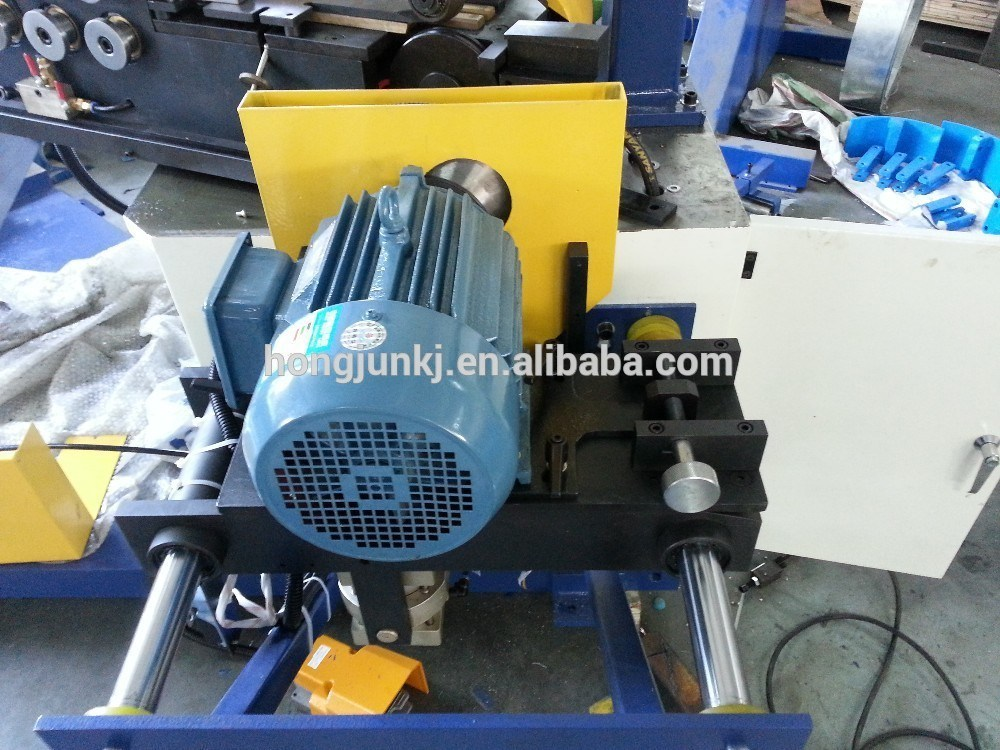 Spiral Tube Forming Machine (saw cutting)