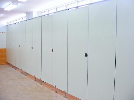 Fashion Custom Modern Compact Public Toilet Cubicle Partition